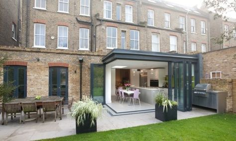 Rear Extension To Ground Floor Flat   Architect Your Home