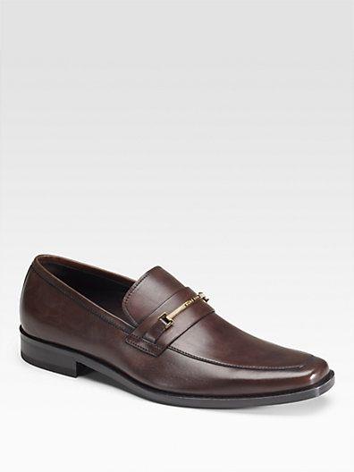 2571dc93890 BOSS HUGO BOSS - Carl Bit Dress Loafers - Saks.com   Men's Fashion ...