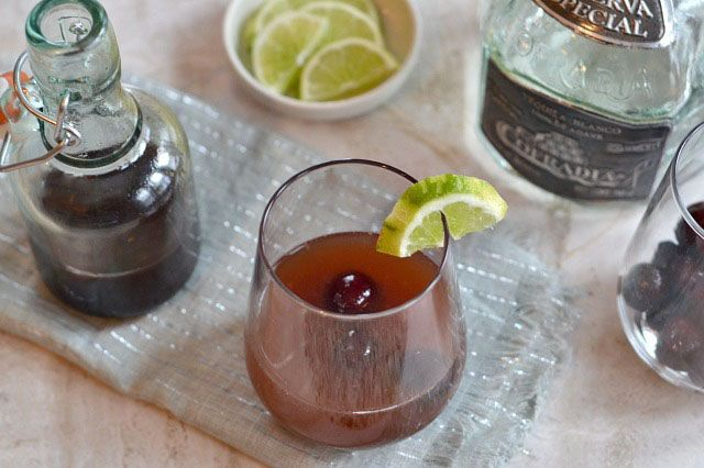 Cherry Tequila Sour & Cuisinart Giveaway
