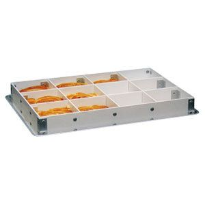 Mfg Tray 176139 1537 2 1 2 High 12 Section Half Size Fiberglass Sheet Pan Extender Best Insulation Tray Extended