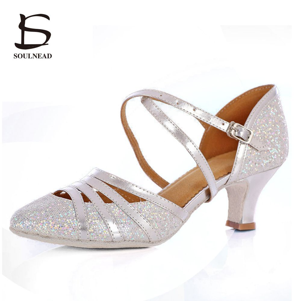 2017 New Style Adult Ladies Girl Ballroom Latin Dance Shoes High Heel Soft  Sole Professional Indoor Tango Salsa Dance Shoes Price  30.36   FREE  Shipping   ... 2169aba67b22