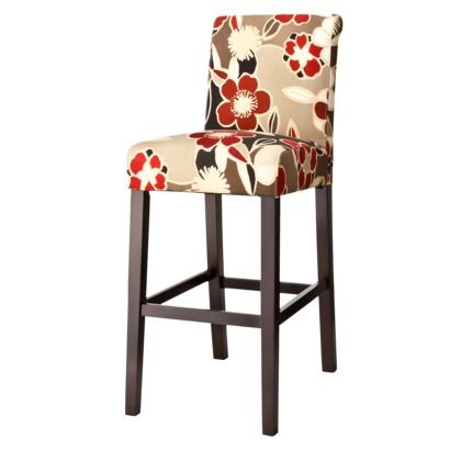 Not This Fabric But Stools Like This Might Be A Great Way