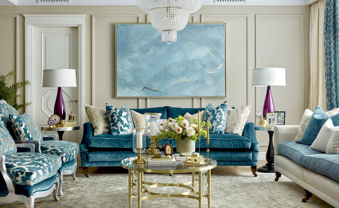 10 Best Teal And Grey Living Room Decorating Ideas