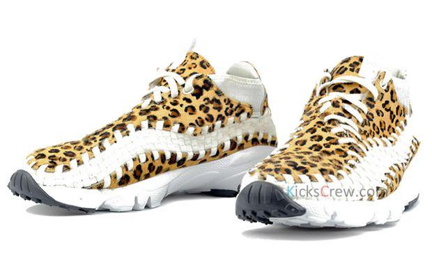 Nike Air Footscape Woven Chukka Motion Leopard