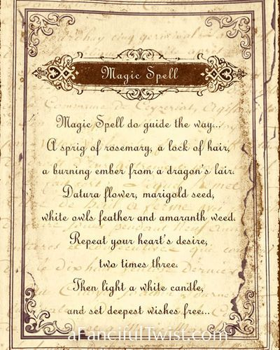 Spells & Potions + Halloween Cards! | Witch spells & Symbols | Witch