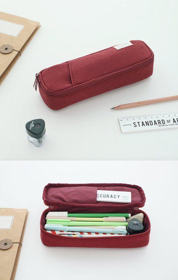 Satchel Pencil Case  Leather Pencase  Pencil Pouch  Pen Pouch  Zipper Pouch  Zipper Bag  Makeup Bag  Makeup Pouch School Supplies