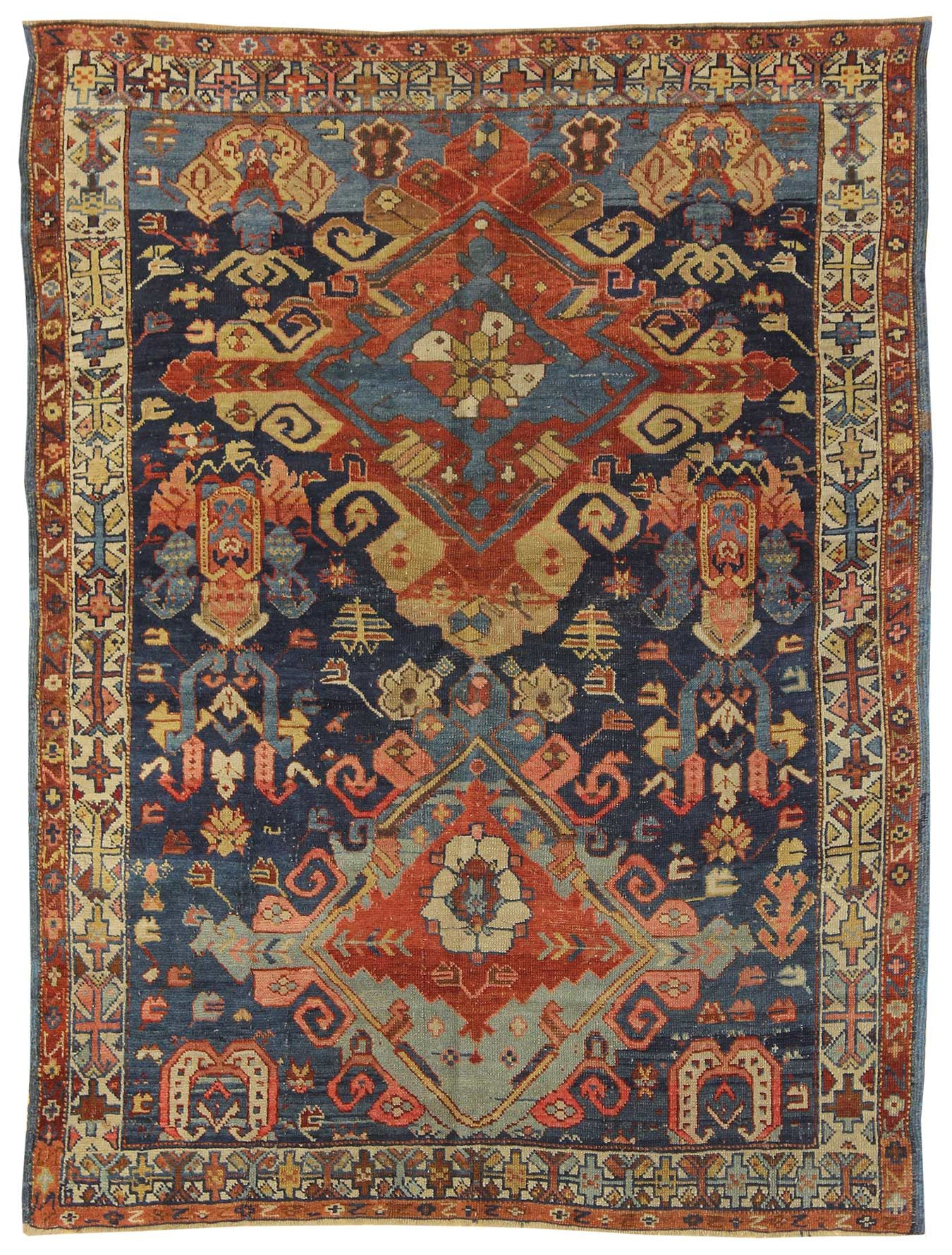 Tappeti Indiani Ricamati Antique Tribal And Other Small Rugs Gallery Antique Seychour Rug