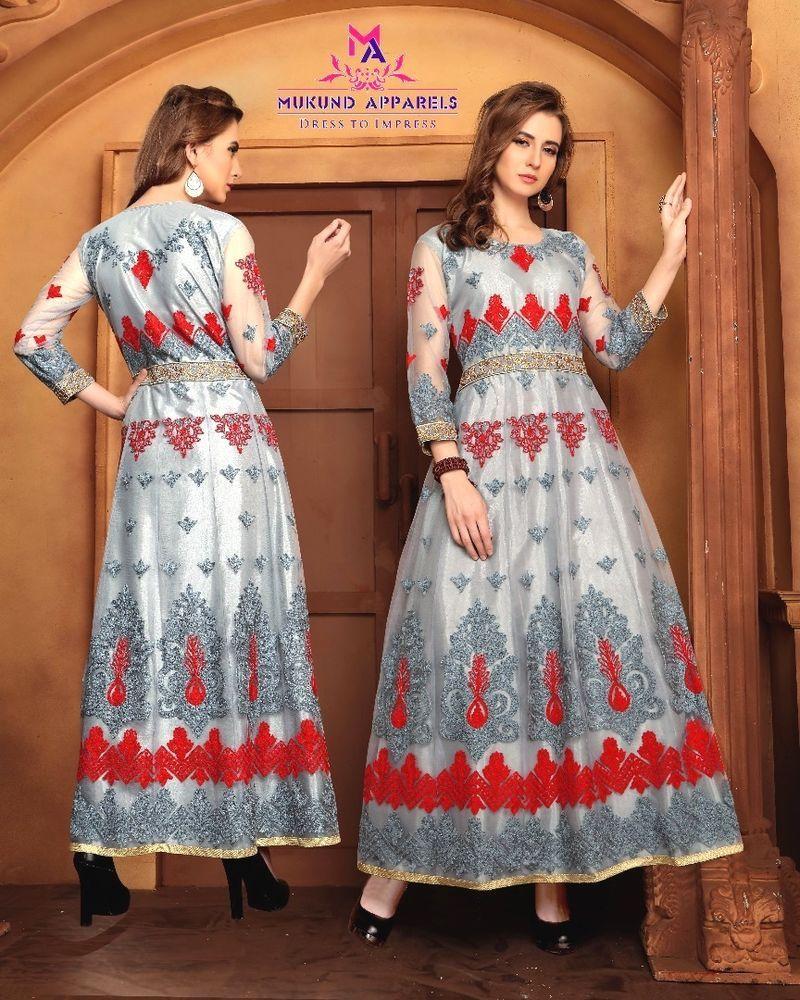 Details about indian bollywood eid kurti designer women ethnic dress