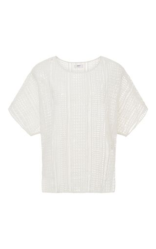 Napili Open Weave Top by MIKOH Now Available on Moda Operandi