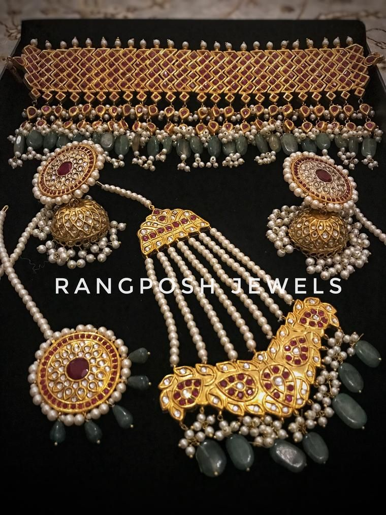 Azmee Choker Set Asian Bridal Jewellery, Wedding Jewelry, Bridal Sets,  Indian Bridal,
