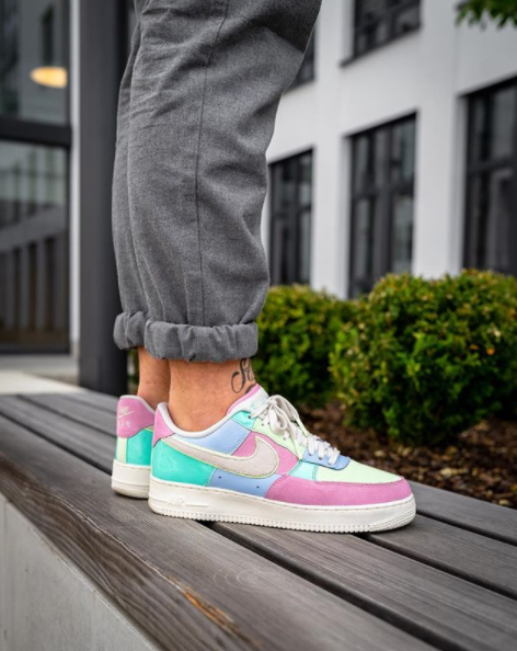 new product e8ff4 0eba1 Nike Air Force 1 Low Easter Egg 2018 AH8462-400 | www ...