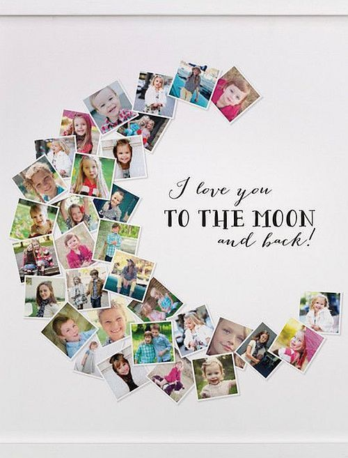 Photo Collage Ideas to Help You Stylishly Display Your Favorite Images |  Einzigartige geschenke, Geschenke, Fotocollage