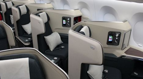 Revealed Cathay Pacific S New Airbus A350 Business Class Seat Business Class Business Class Seats Cathay Pacific