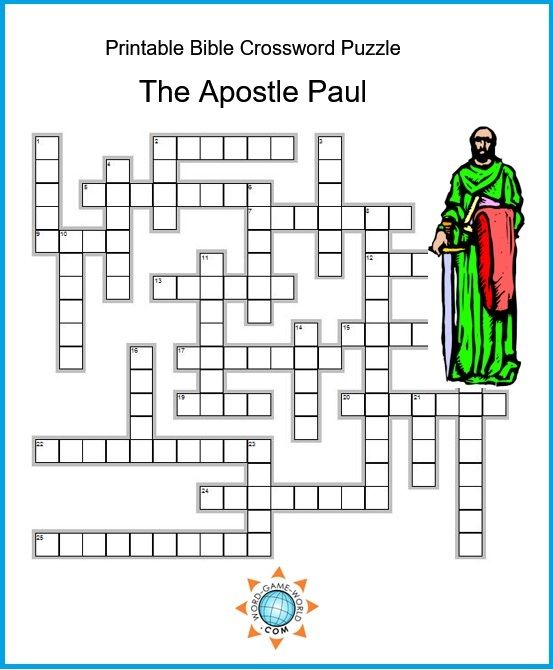 picture about Bible Crossword Puzzles Printable titled Printable Bible Crossword Puzzles Are Best for Studying