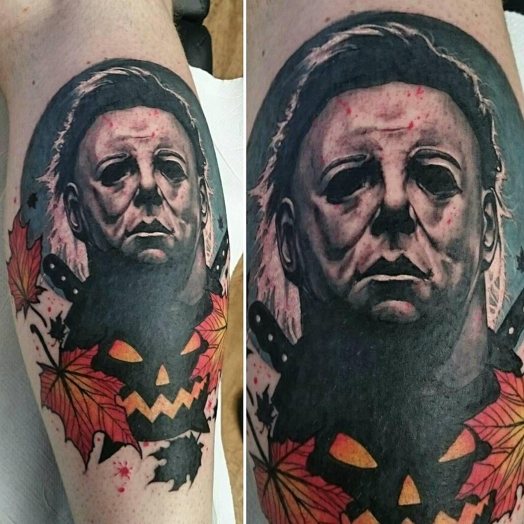 halloween #michaelmyers #tattoo #tattoos @steeleandinktattoo ...