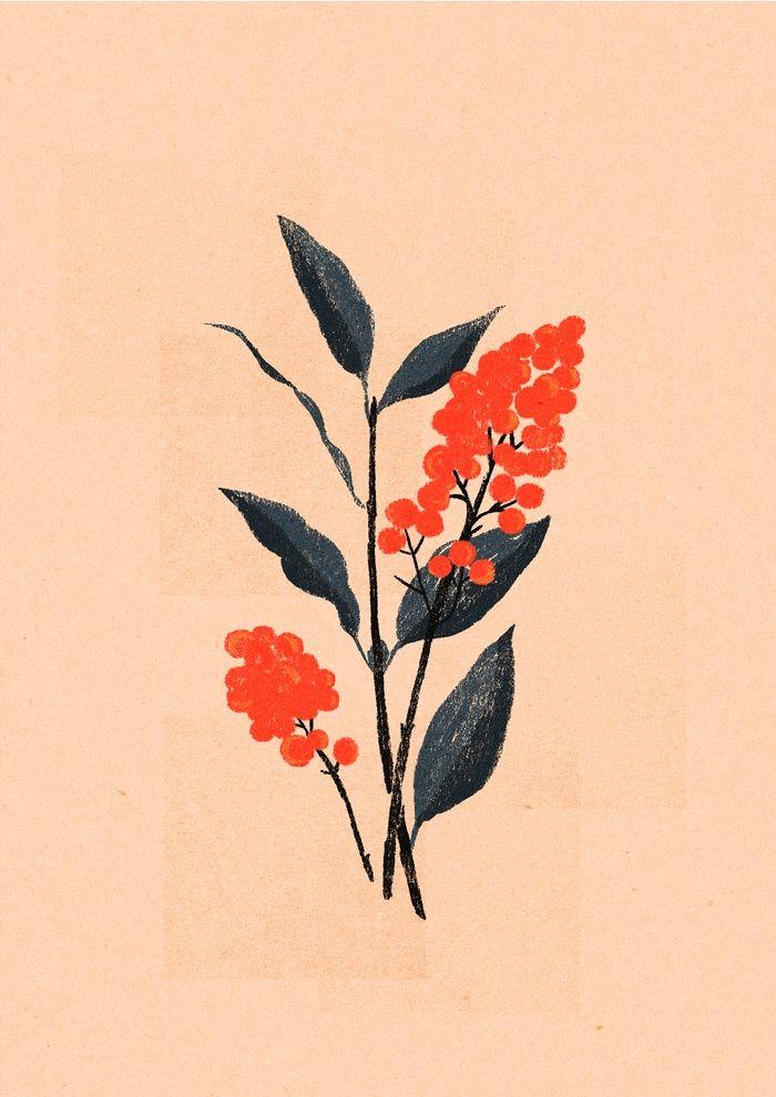 Kalemba Flower I Art Print by Willian Santiago | Society6 #afflink