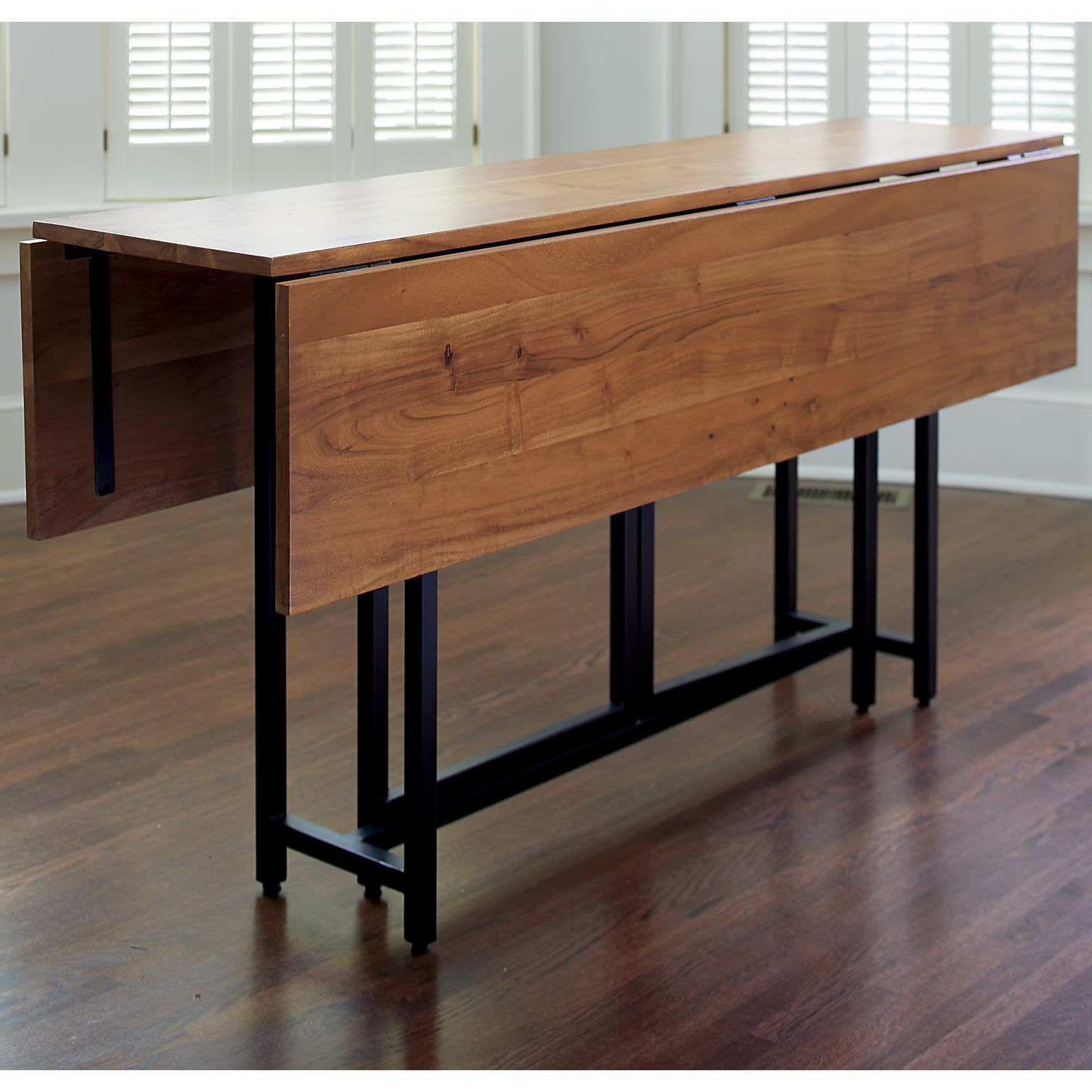 Origami Drop Leaf Rectangular Dining Table Reviews Crate And
