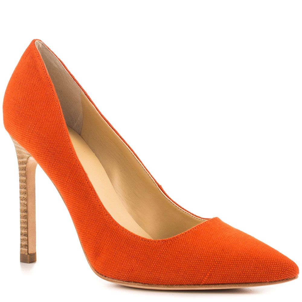 Carra 4 - Orange Fabric Ivanka Trump Create the perfect look in the  flawless rich orange