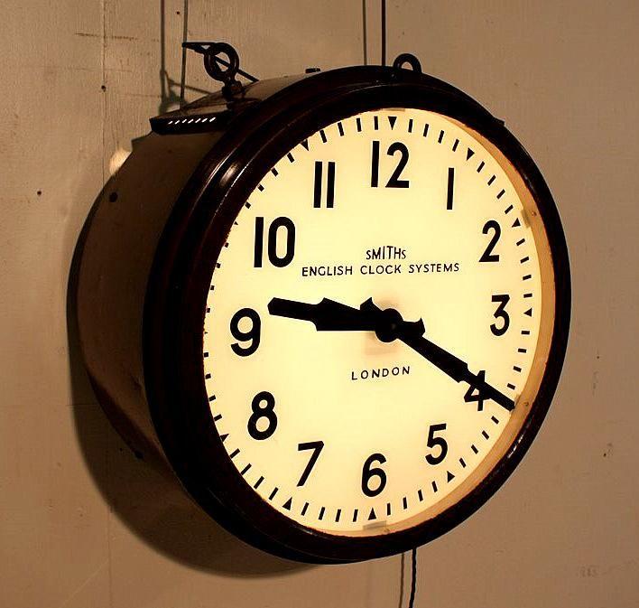 Pin By Daniel Bear Hunley On Home Industrial Clocks Industrial Style Decor Clock
