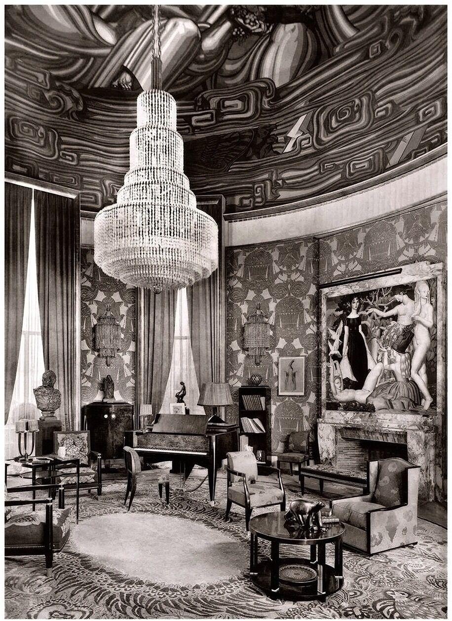 Grand Salon, Paris, c.1925. Émile-Jacques Ruhlmann   Art Deco ...