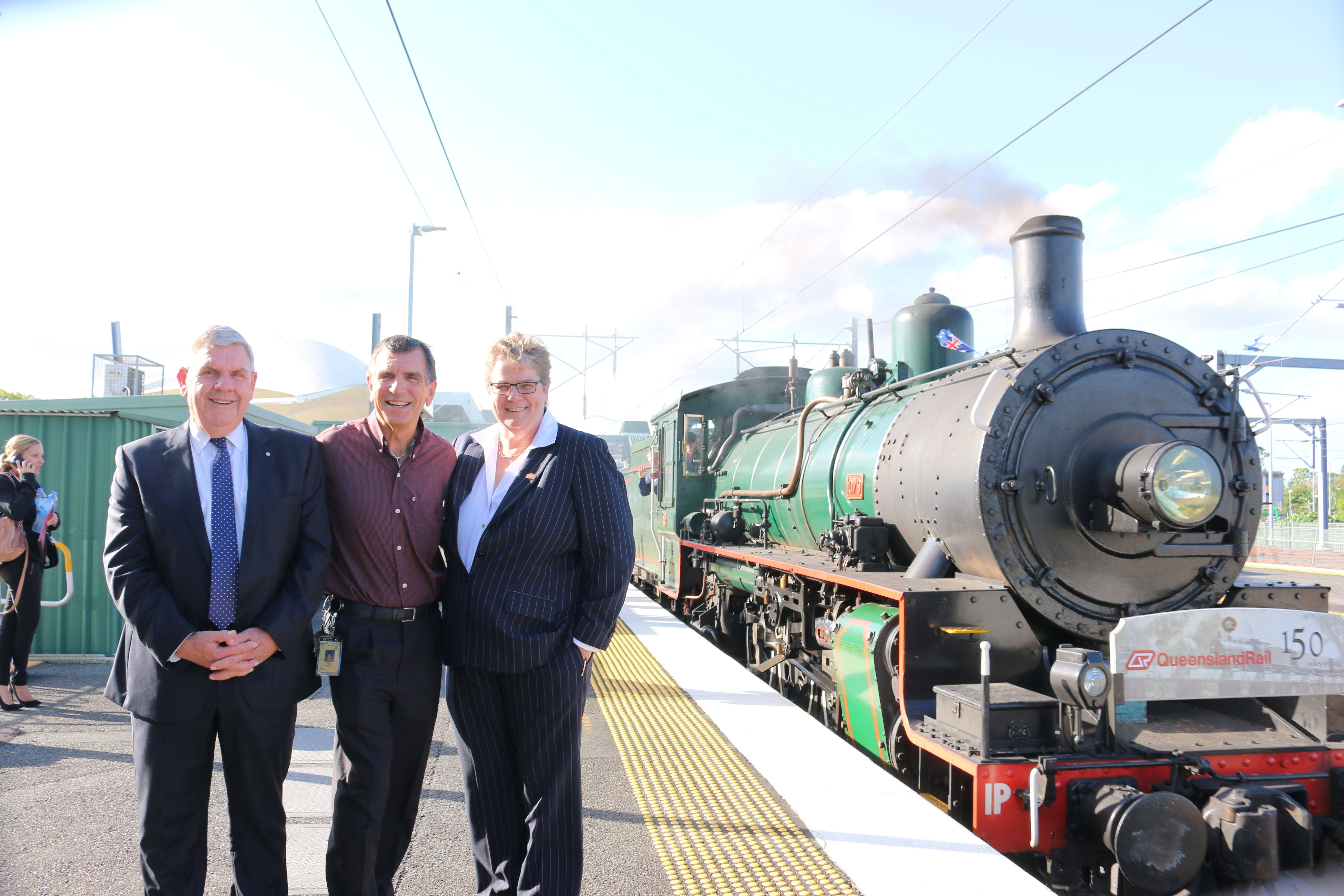 Celebrating 150 years of rail in Queensland at Caboolture