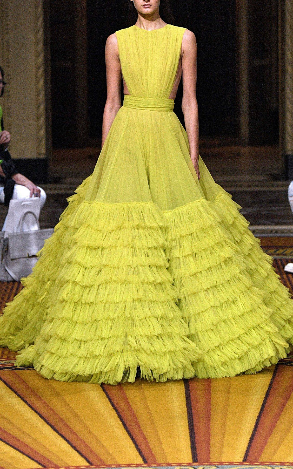 a173312a4c1 Tiered Tulle Gown by Christian Siriano SS19