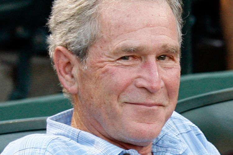 George Bush Funny Face 63225 Enews