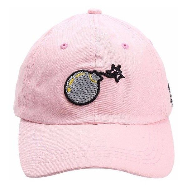 Unisex Bomb Cartoon Hip Hop Hat Kpop Sport Curved Strapback Baseball... (215 dc0086f4899f