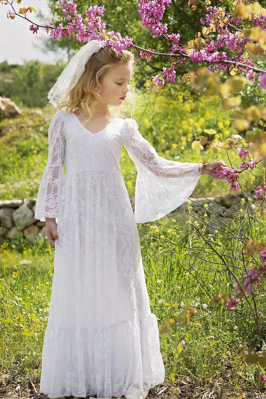 55adfcf4f2b Flower Girl Dresses Boho