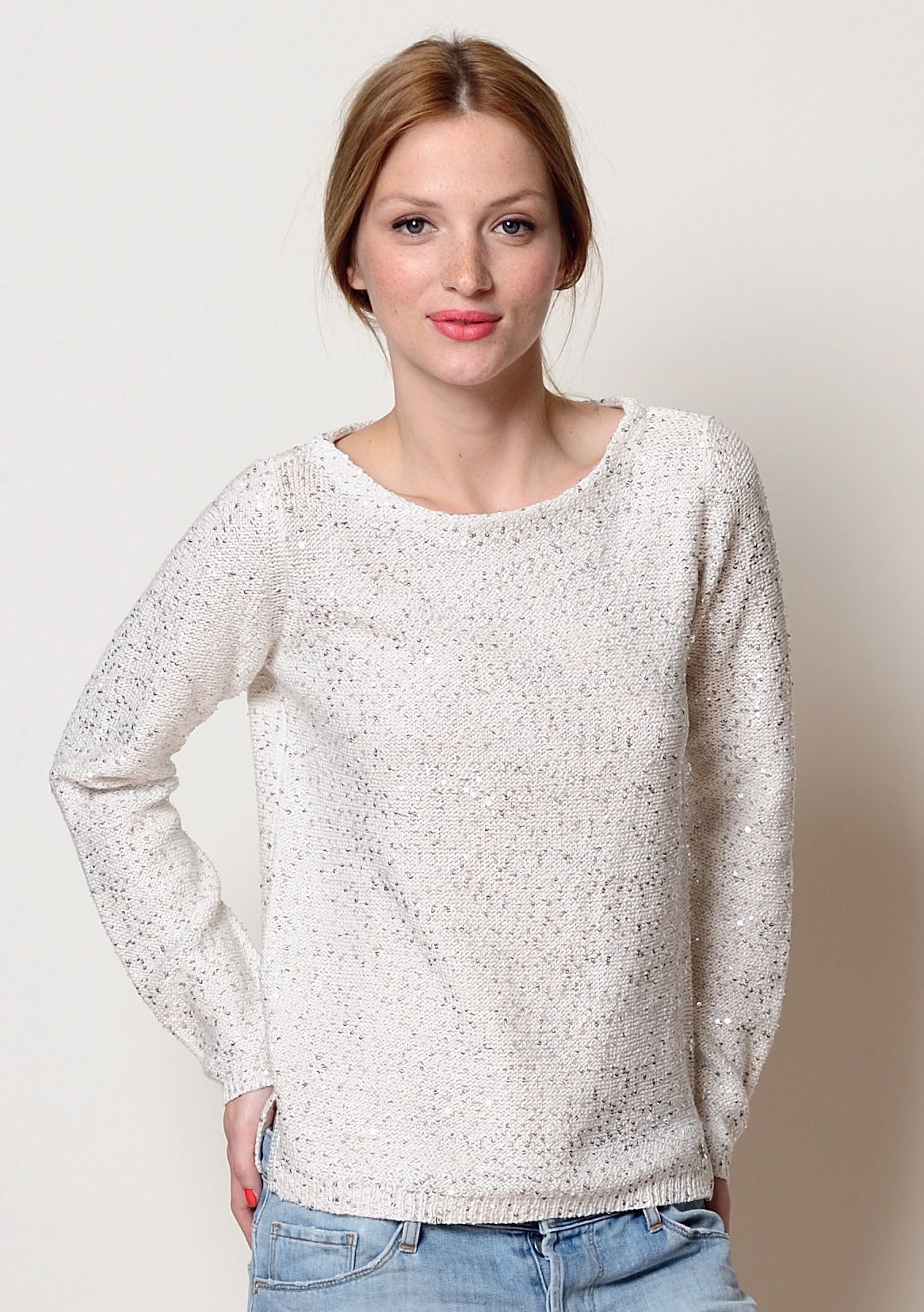 Sequinned jumper from Des Petits Hauts - stunning