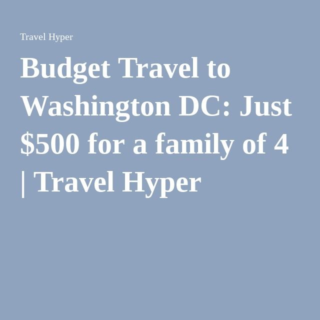 budgeting for a family of 4