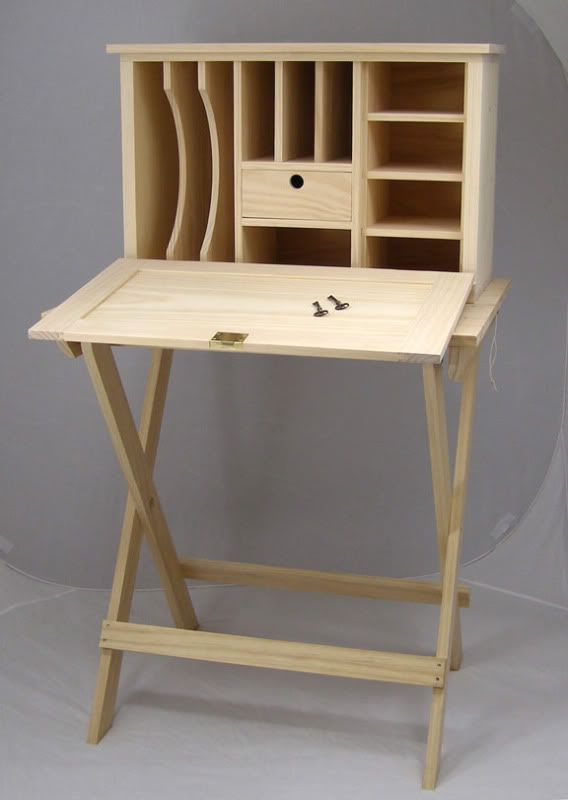 Civil War Officer S Field Desk From Plans In Woodworking