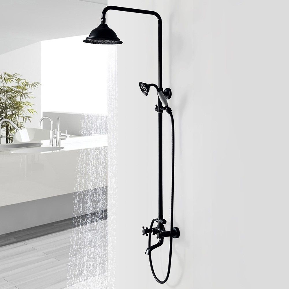 Chester Classic Vintage Bathroom Exposed Rainfall Shower System