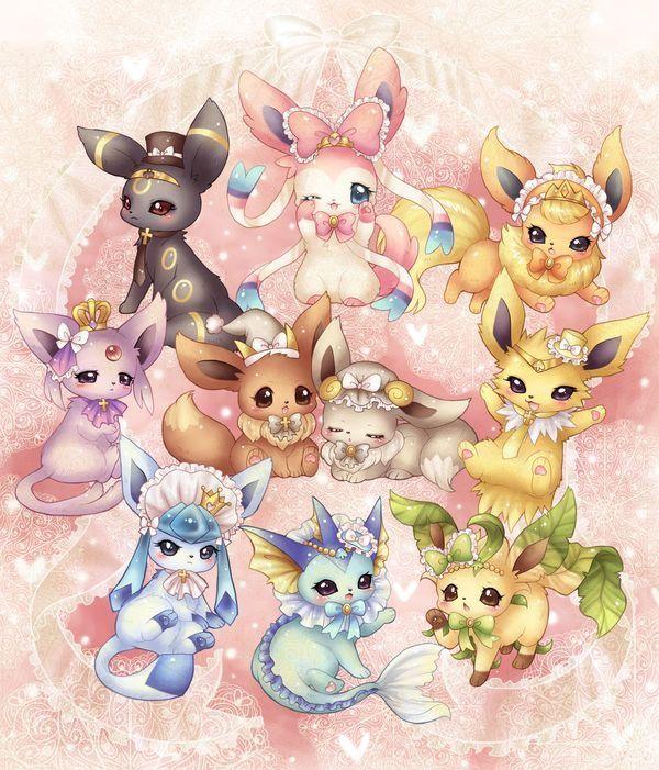 Pin By Regina Aimee On Pokemon Cute Pokemon Wallpaper Cute Pokemon Pictures Pokemon Eeveelutions