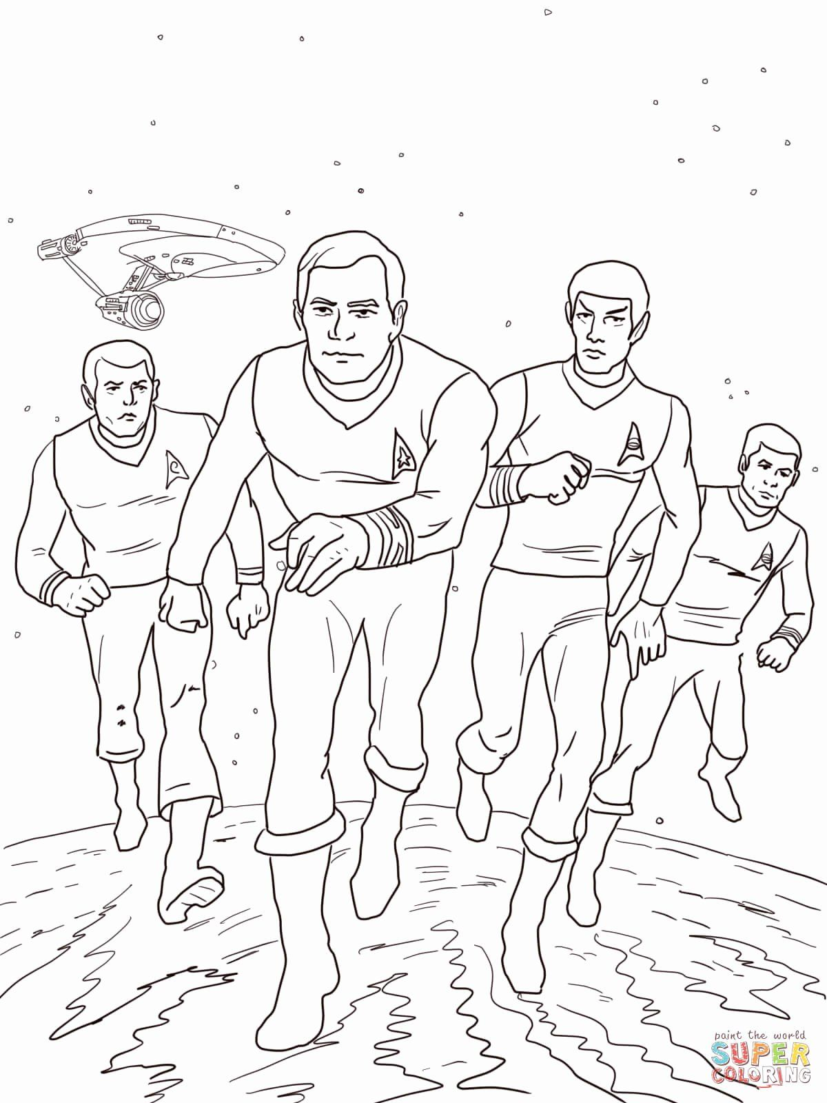Star Trek Coloring Book Unique Star Trek The Animated Series Coloring Page In 2020 Star Wars Characters Coloring Books Star Trek Party