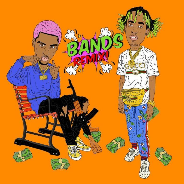Download Comethazine Ft Rich The Kid Bands Remix Rich The Kid Remix Latest Music Cartoon rapper wallpaper rich kid