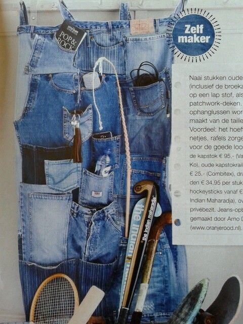 Oude Spijkerbroeken Hergebruiken Naaien Pinterest