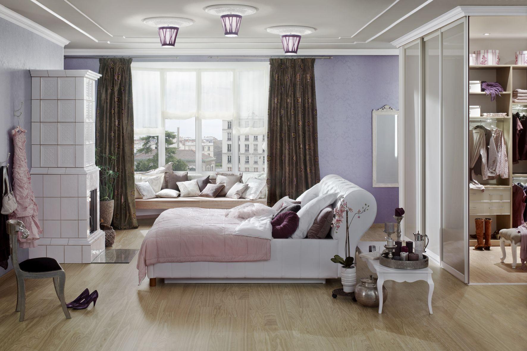 #Einrichtungsidee für das #Schlafzimmer. | Einbauschrank ...