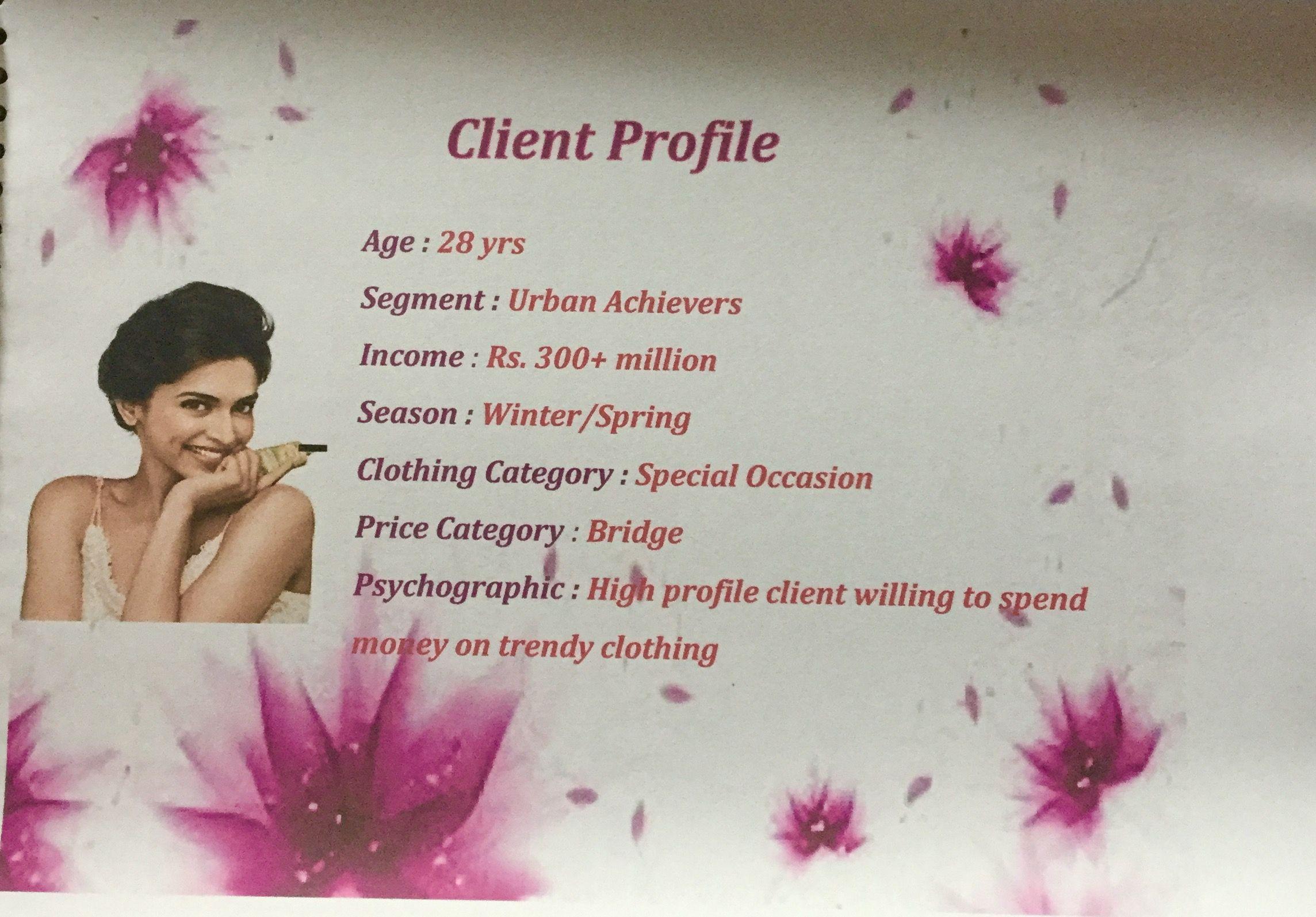 Client Profile Client Profile Spending Money Trendy Outfits