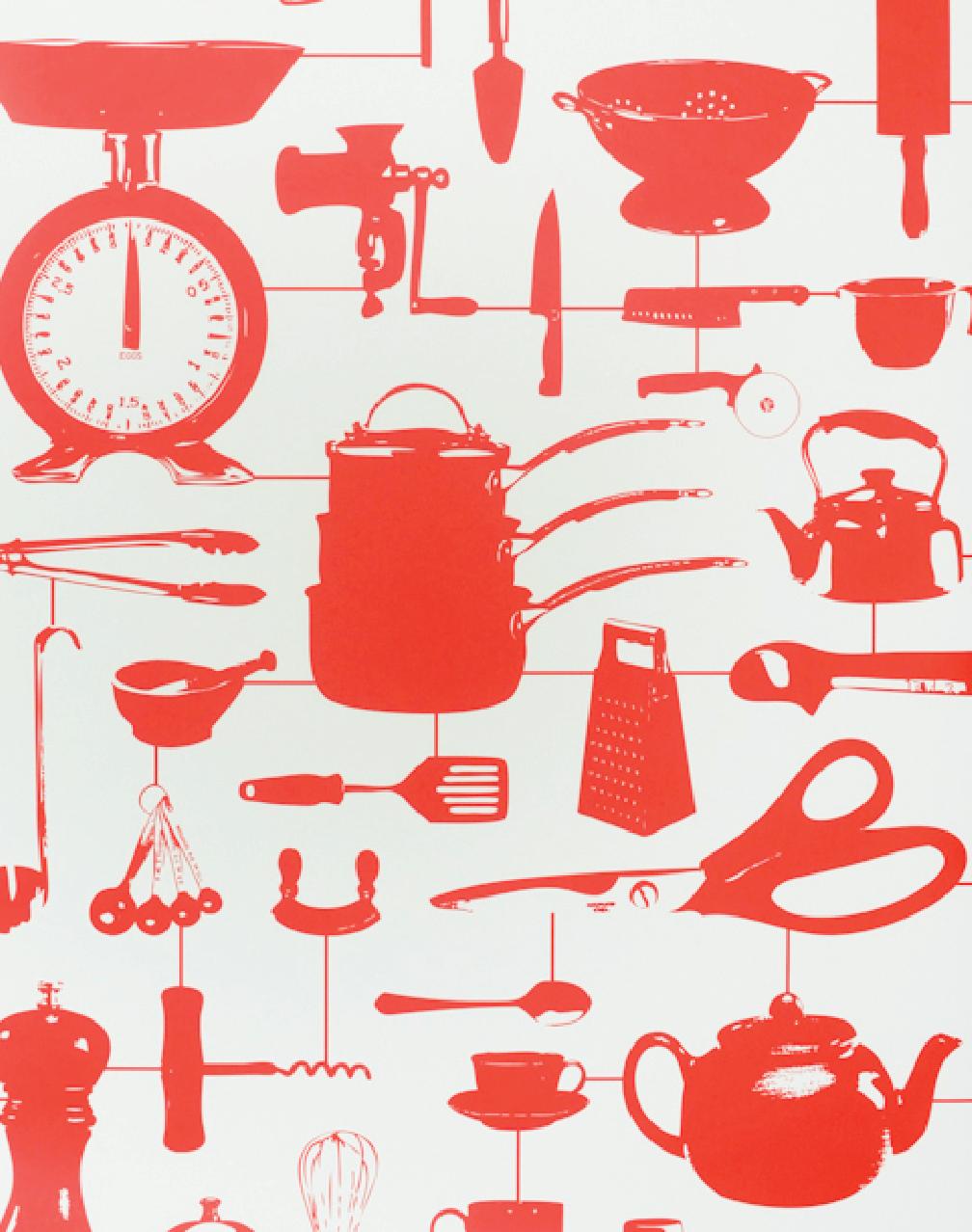 Kitchen Wallpaper Designs One Kitchen Done Three Ways The New York Times Wallpaper Designs