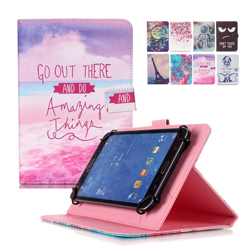 huawei tablet case. universal 10 inch tablet case for irbis leather cover flip stand+center flim+pen huawei