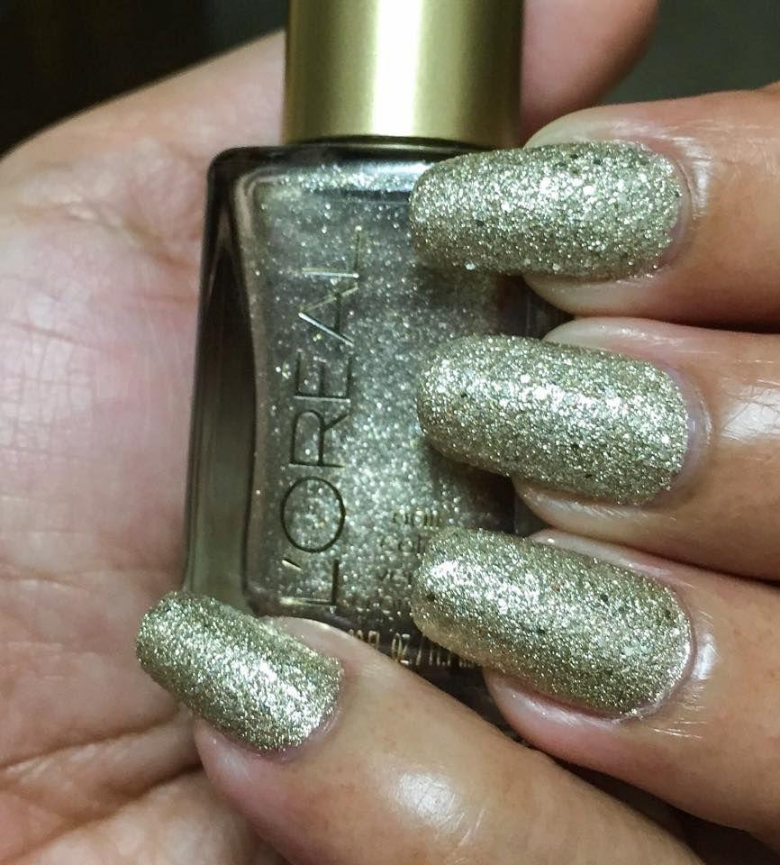 Gold Silver Nail Polish ~ Loreal Nail Polish Color, The Statement ...