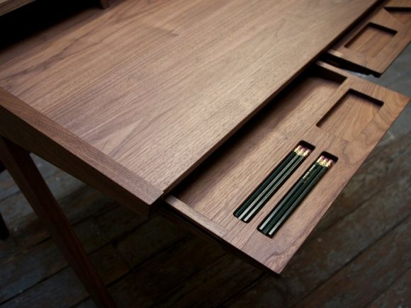Laura Desk By Phloem Studio Gessato Modern Desk Wood Design Desk Design