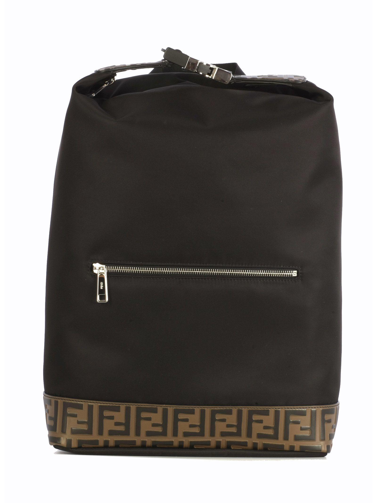 c0fb04e8 FENDI NYLON SANTANDE MONOGRAM LOGO. #fendi #bags #nylon # | Fendi ...