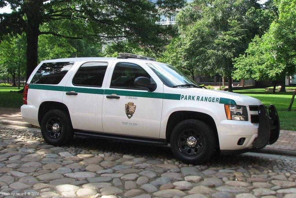 US Park Service Park Ranger - Philadelphia PA - Chevrolet Tahoe (1) | Us  police car, Park ranger, Chevrolet tahoe