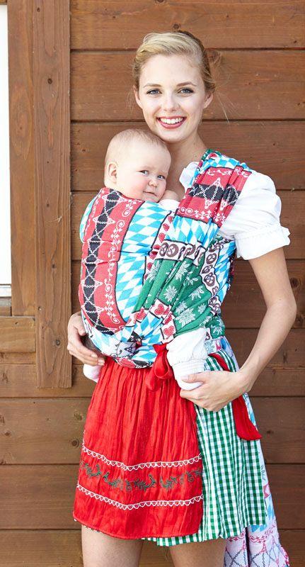 Kokadi Baby Wrap Oktoberfest 100 Cotton Babywearing Hipster
