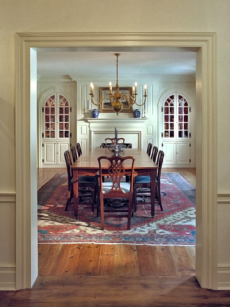 John Milner Architect Design Preservation Chadds Ford Pennsylvania Colonial Obsession