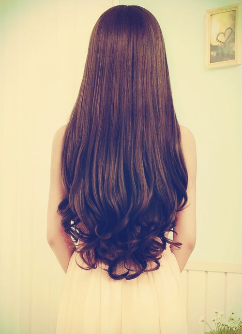Love This Curling Straight Hair Long Hair Styles Curls For Long Hair