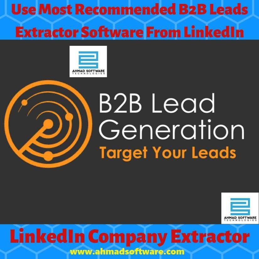 B2B Leads Generate B2B Leads from LinkedIn in 2019
