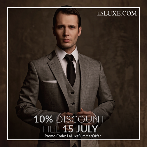 Summer blahs got you feeling pretty plain? Jazz up your wardrobe with #LaLuxe's 10% discount on sharp and essential looks that are anything but basic! Use promo code 'LaLuxeSummerOffer' at the checkout.